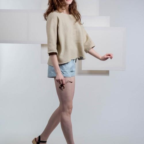 women sweatshirt and sweaters Drop beige