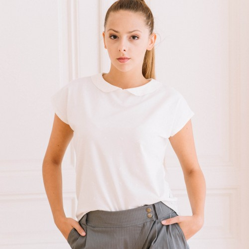 t-shirt for women Sofie cream