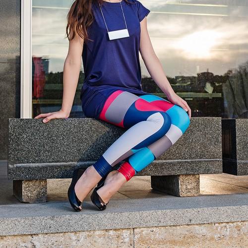 Leggings Tatlin blue