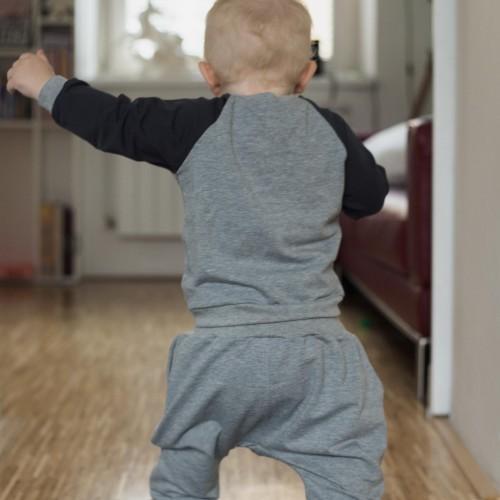dětské oblečení Zenit šedočerná