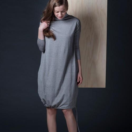 dresses and skirts Vilma grey melange
