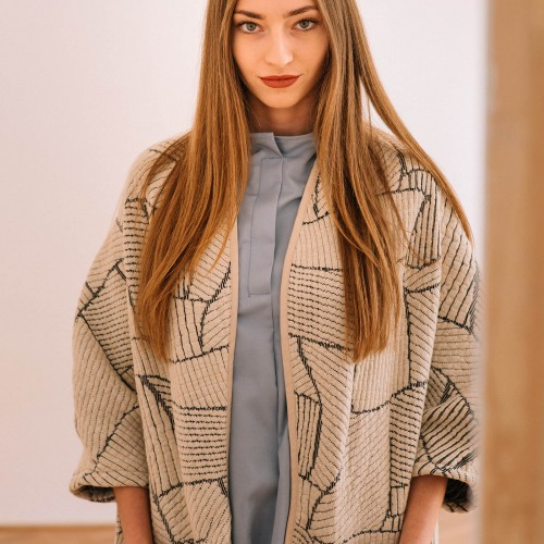 women sweatshirt and sweaters Vera beige