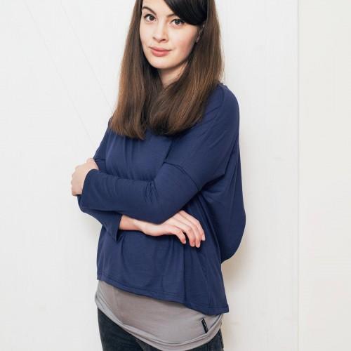 Dámské tričko Ella modrá