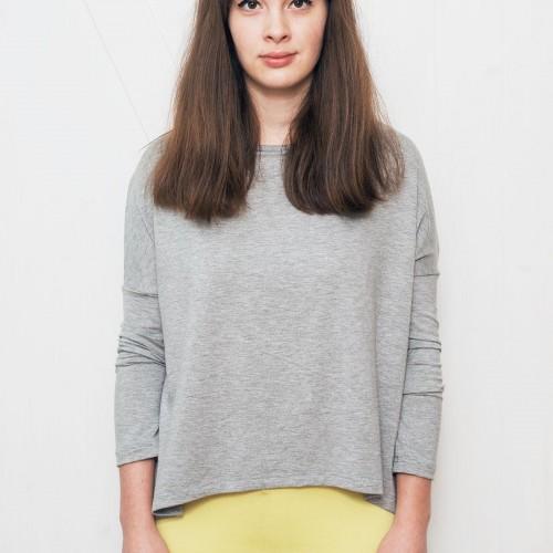 Dámské tričko Ella šedý melír