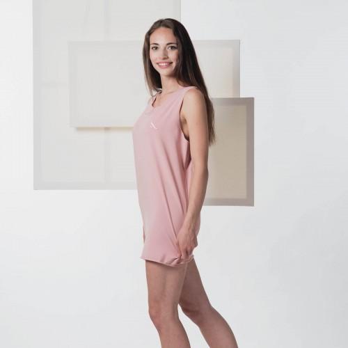 Dámské tričko Split pudrově růžová
