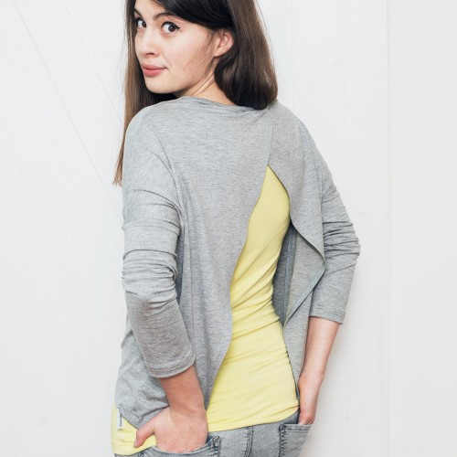 t-shirt for women Ella grey melange