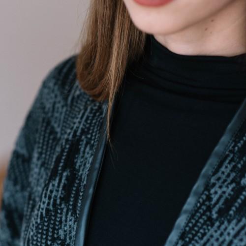 women sweatshirt and sweaters Vera greyblack