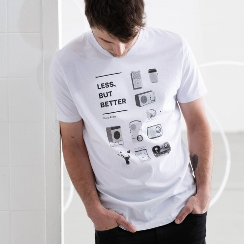 Pánské tričko Less but better bílá