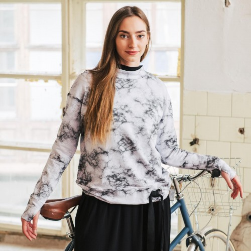 women sweatshirt and sweaters Molly marble