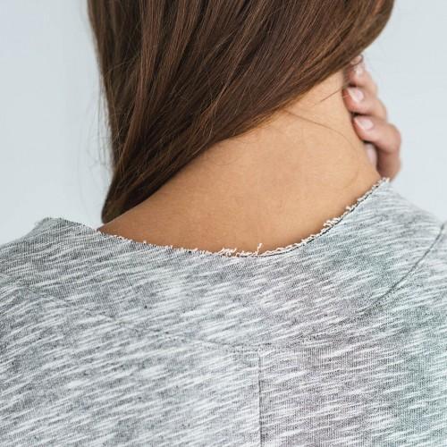 women sweatshirt and sweaters Dora Grey melange
