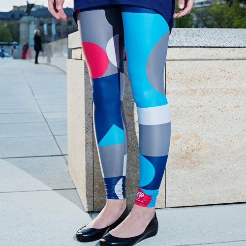 Leggings Tatlin blue