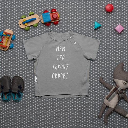 children's outfit Období grey melange