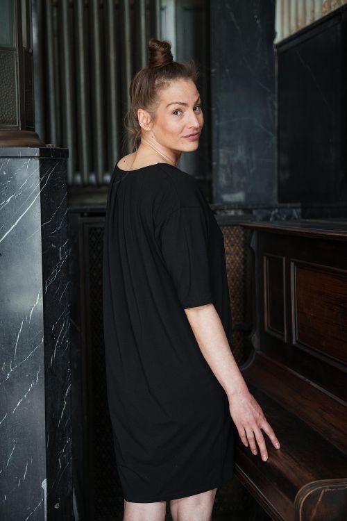 Šaty a sukně Aletta černá