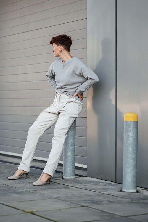 Kalhoty & šortky Nora béžová