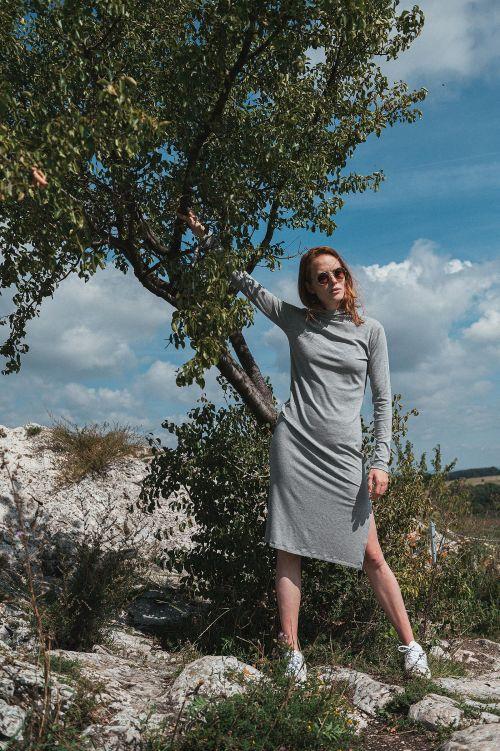Dresses and skirts Penea grey