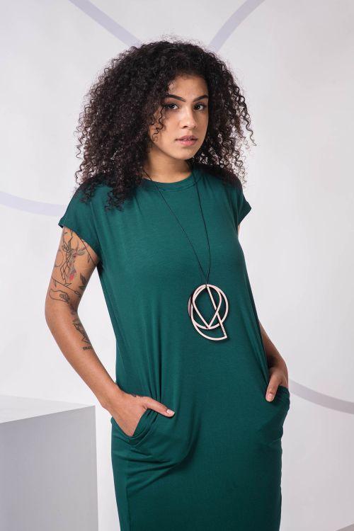 Šaty a sukně Naja 2.0 forest