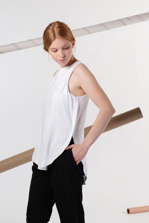 t-shirt and shirt for women Anja white