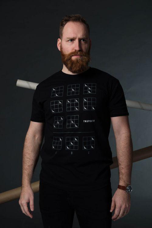 Pánské tričko Binar černá