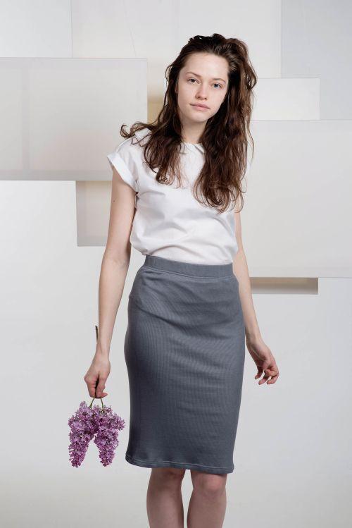 Šaty a sukně Bea tm. šedá