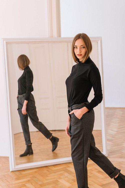 pants & shorts Nora greyblack