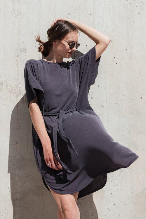 Šaty a sukně Agnes plum