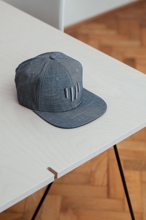 Snapback Plane light grey