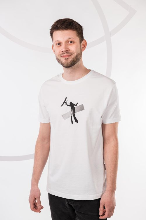 t-shirt for men Art white