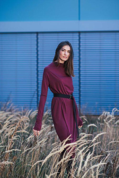 Šaty a sukně Vilma 2.0 vínová