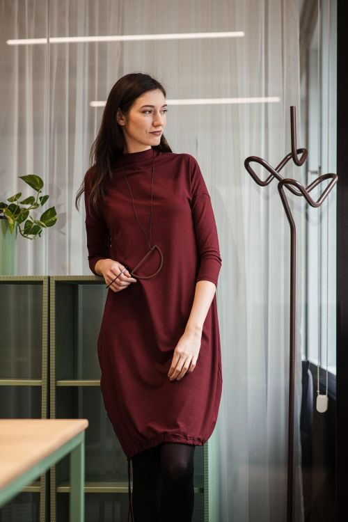 Dresses and skirts Vilma winered