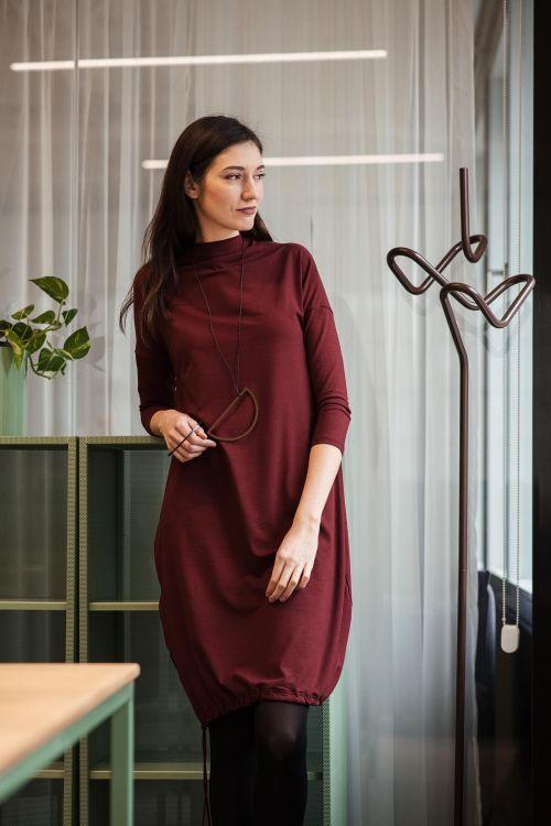 Šaty a sukně Vilma bordó