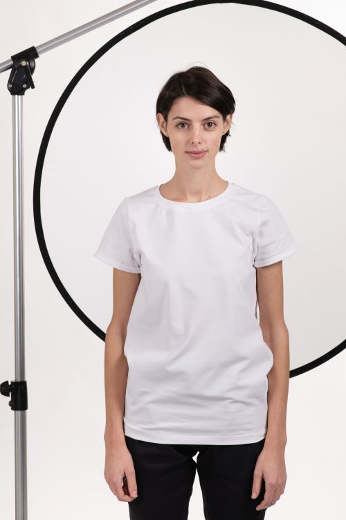 t-shirt and shirt for women Thea white