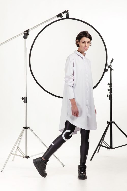 Šaty a sukně Tess bílá