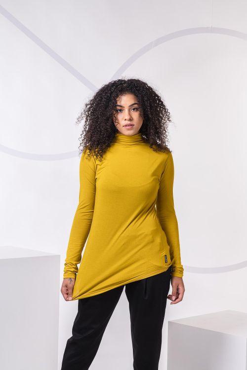 women sweatshirt and sweaters Alma mustard
