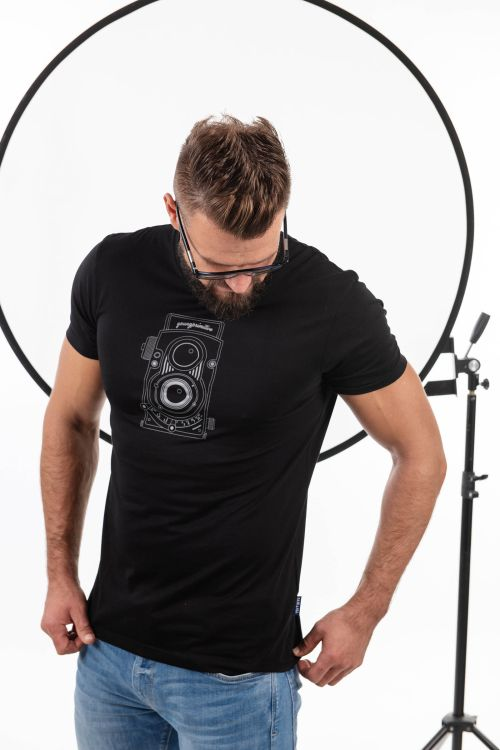t-shirt for men Flexaret black