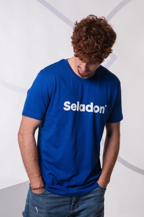 Pánské tričko Seladon modrá