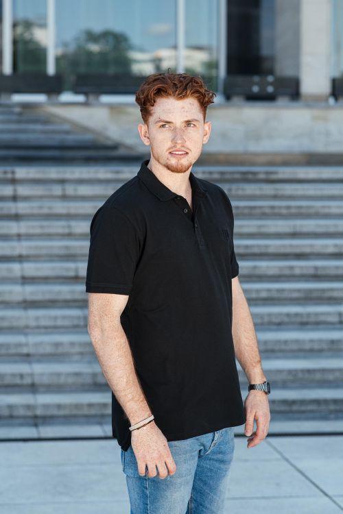 Pánské tričko Paul černá