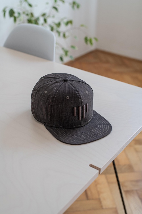 cap Snapback Plane brown