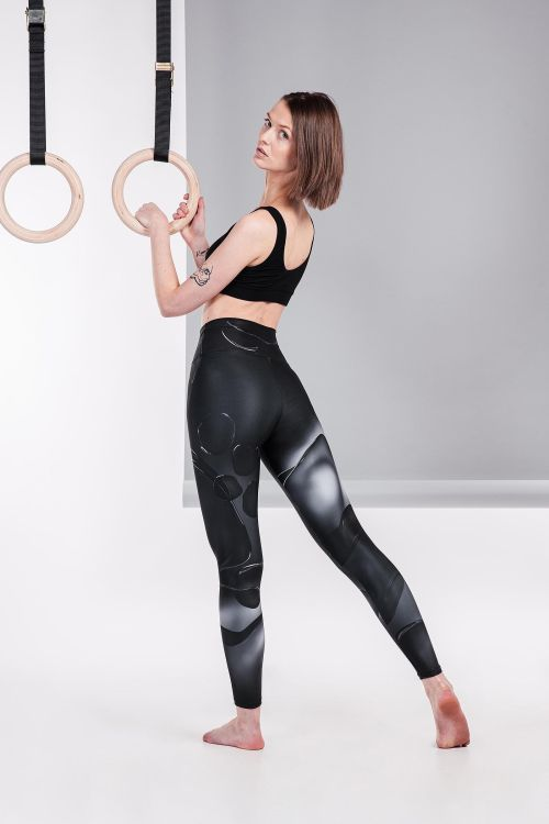 classic leggings Bobble black