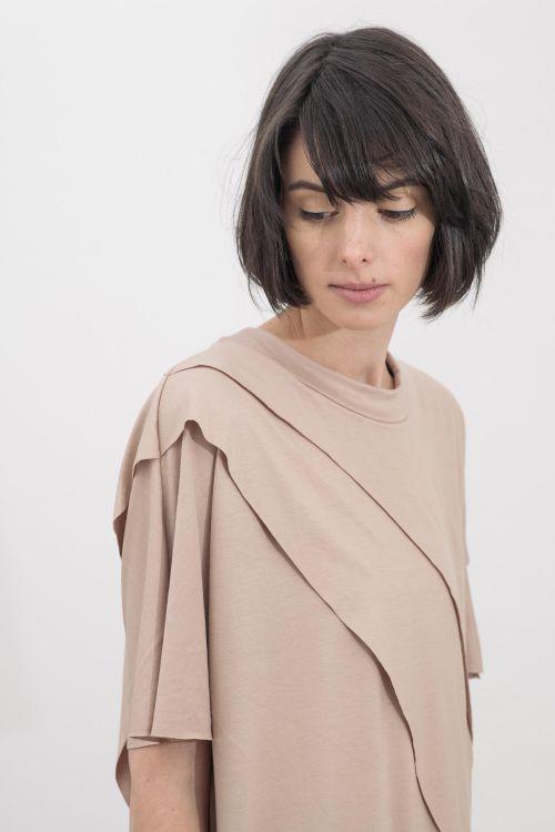 Šaty a sukně Hanna Nude
