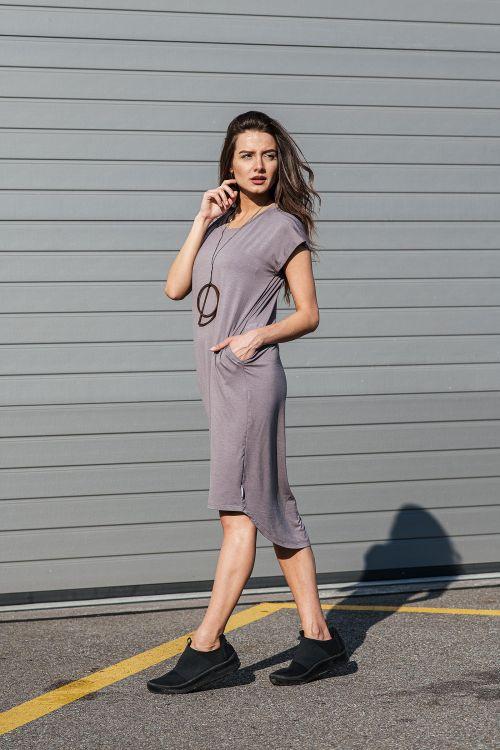Šaty a sukně Naja 2.0 Babaganoush