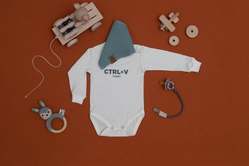children's outfit Ctrl+v off-white