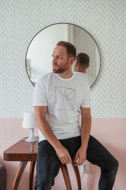 tričko Wedge bílá