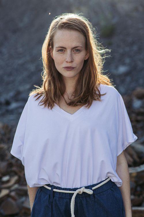 Dámské trička a košile Venus bílá