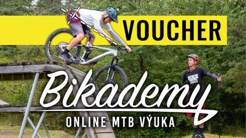 Voucher na roční členství v online MTB výuce BIKADEMY.cz