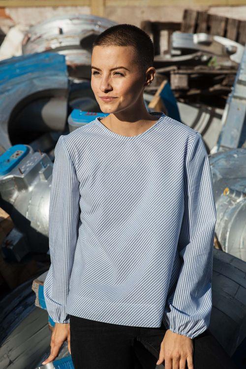 trička a košile Kosmo modrý proužek