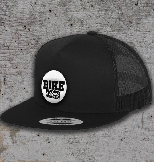 "Kšiltovka Bike O'Clock - ""Trucker"" Black"