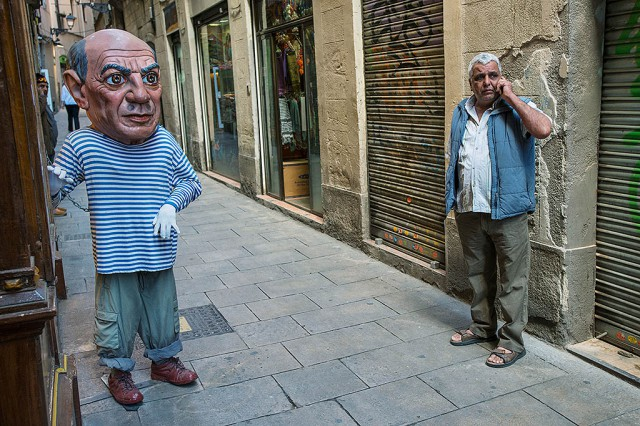 Picaso už z těch turistů má úplně nafouklou hlavu
