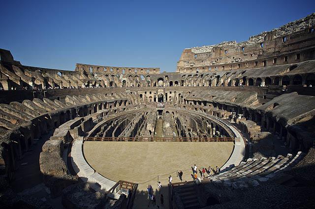 Pohled na celé Koloseum
