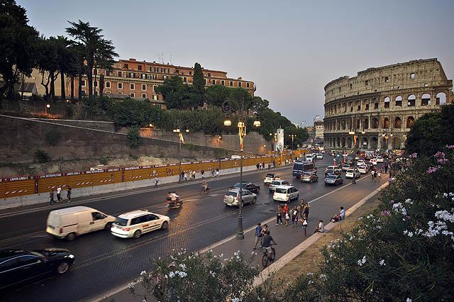 Pohled na Koloseum