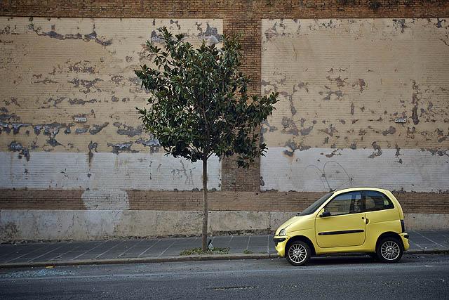 Římani milují malá auta :)